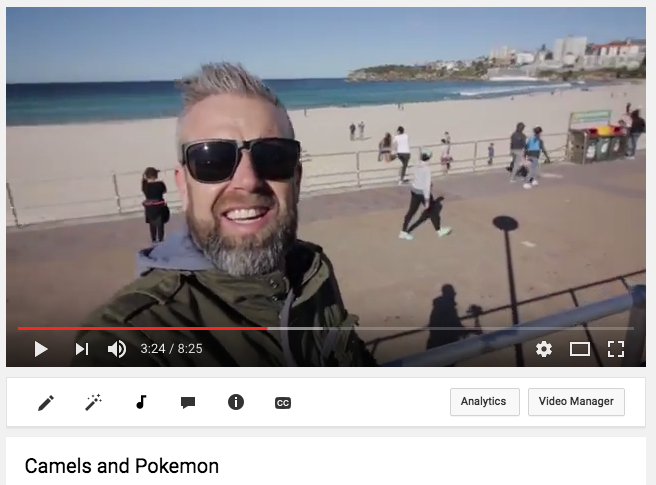 Camels and Pokemon – VLOG #005